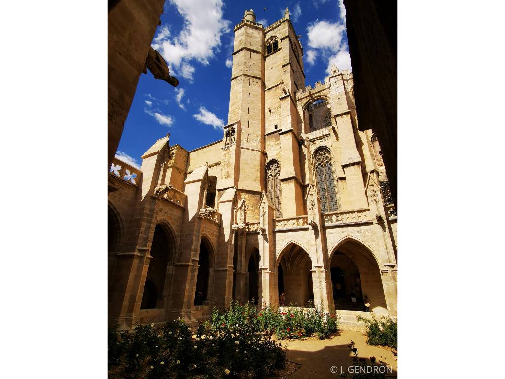 cloitre Cathédrale Saint Just et Saint Pasteur de Narbonne