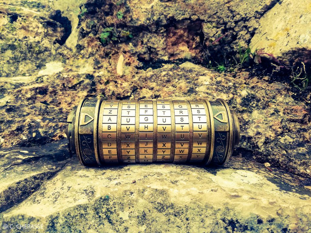 cryptex jeu de piste Nîmes