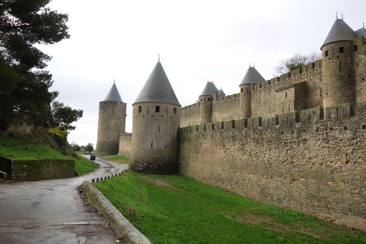 enceinte de la cité médiévale de Carcassonne