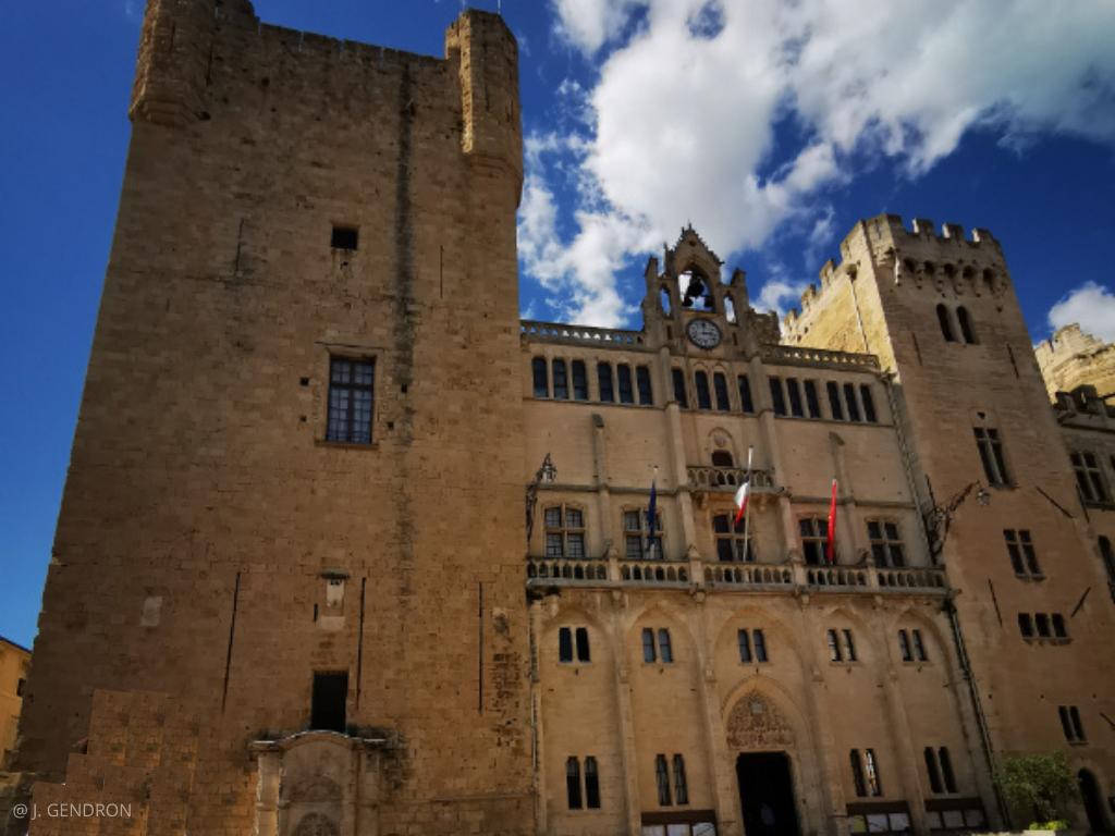 visite de Narbonne, mairie