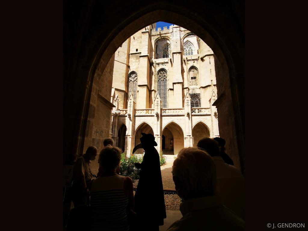 visite cloitre Cathédrale Saint Just et Saint Pasteur de Narbonne