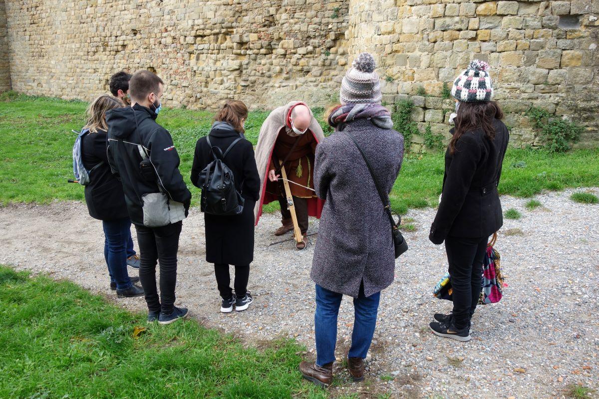 visite insolite de Carcassonne au temps des croisades