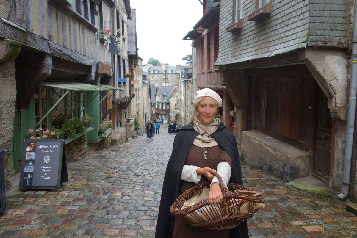 visite Dinan rue Jerzual Moyen Âge