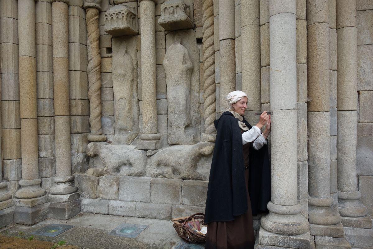 visiter Dinan insolite bâtisseuse Moyen Âge église saint sauveur