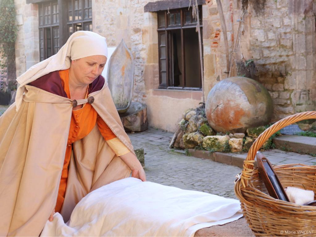 Bérangère Guiot, tisserande à Cordoa au Moyen âge