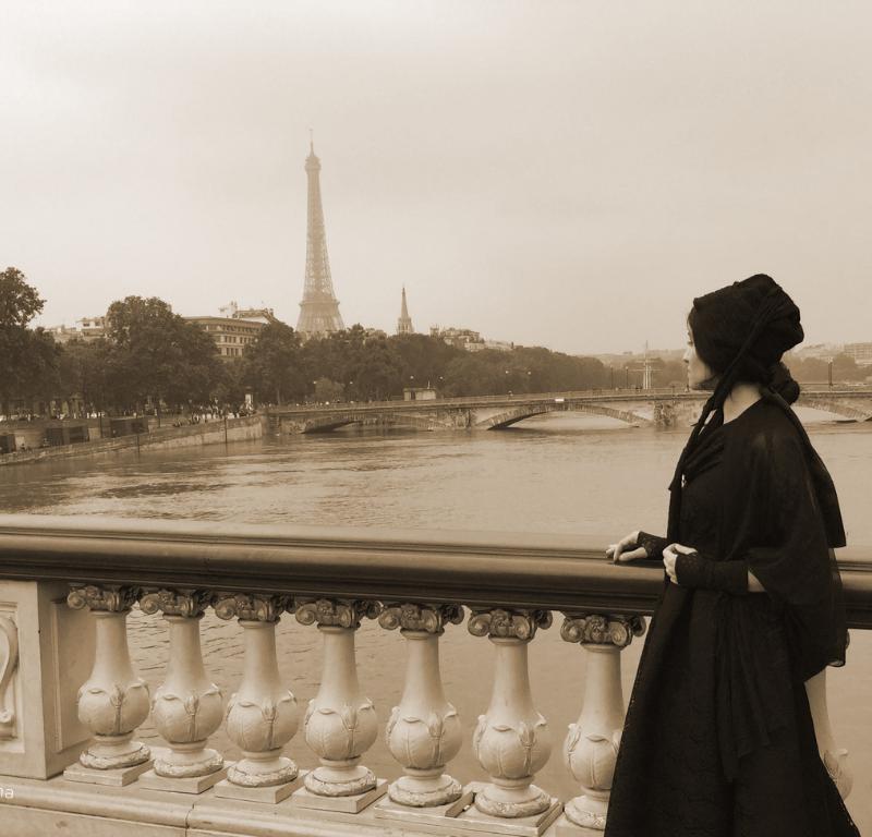 Maria Angustias à Paris à la Belle époque