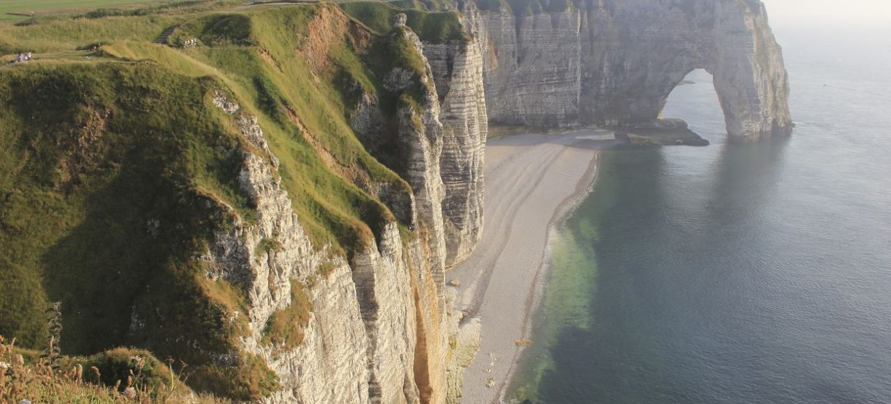 falaise d'etretat normandie