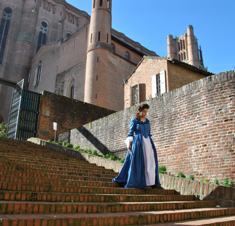 visite insolite cathédrale d'Albi avec Mme Lapérouse