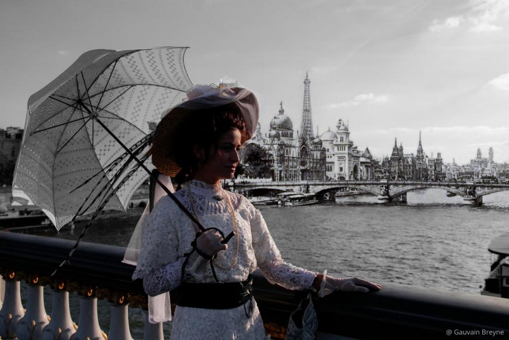 visite insolite Paris Belle époque Pont Alexandre III