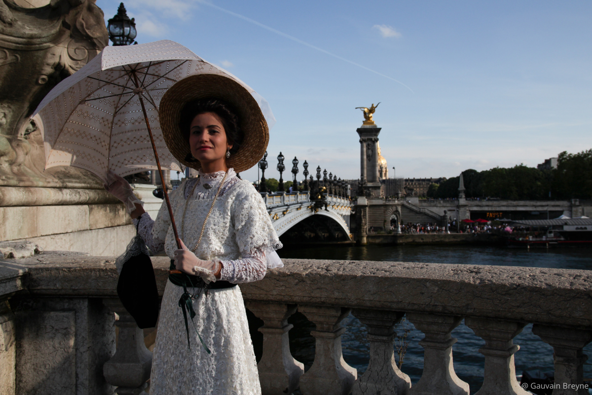 visiter Paris 7ème à la Belle époque Pont Alexandre III