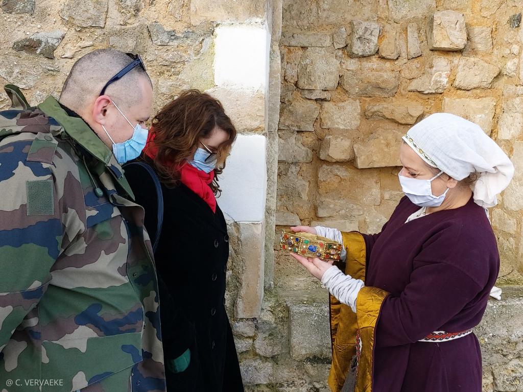 Visiter Falaise avec Dame Ottilia