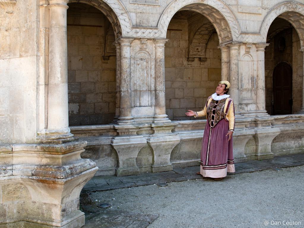 Françoise de Rohan visite costumée La Rochelle capitale protestante