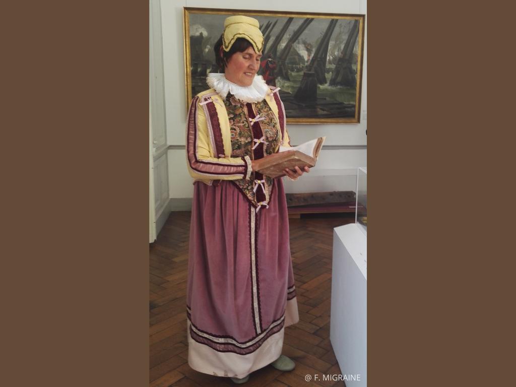 visite insolite de La Rochelle avec Françoise de Rohan