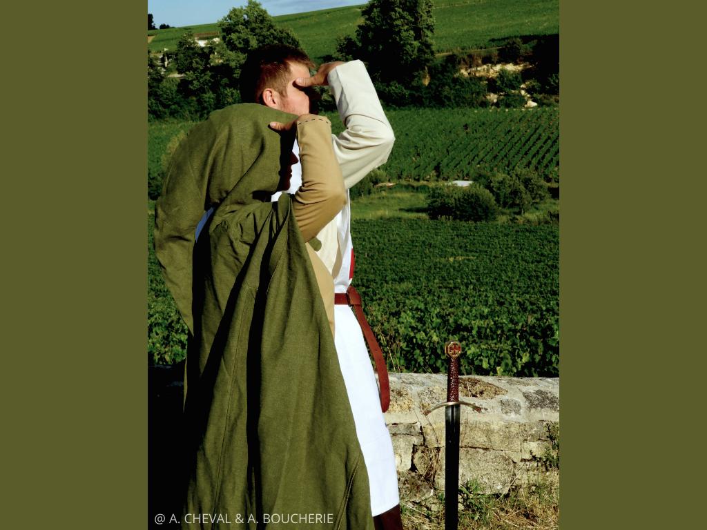 légende du Saint Graal Lyssandre et Alderic visite de Saint Emilion
