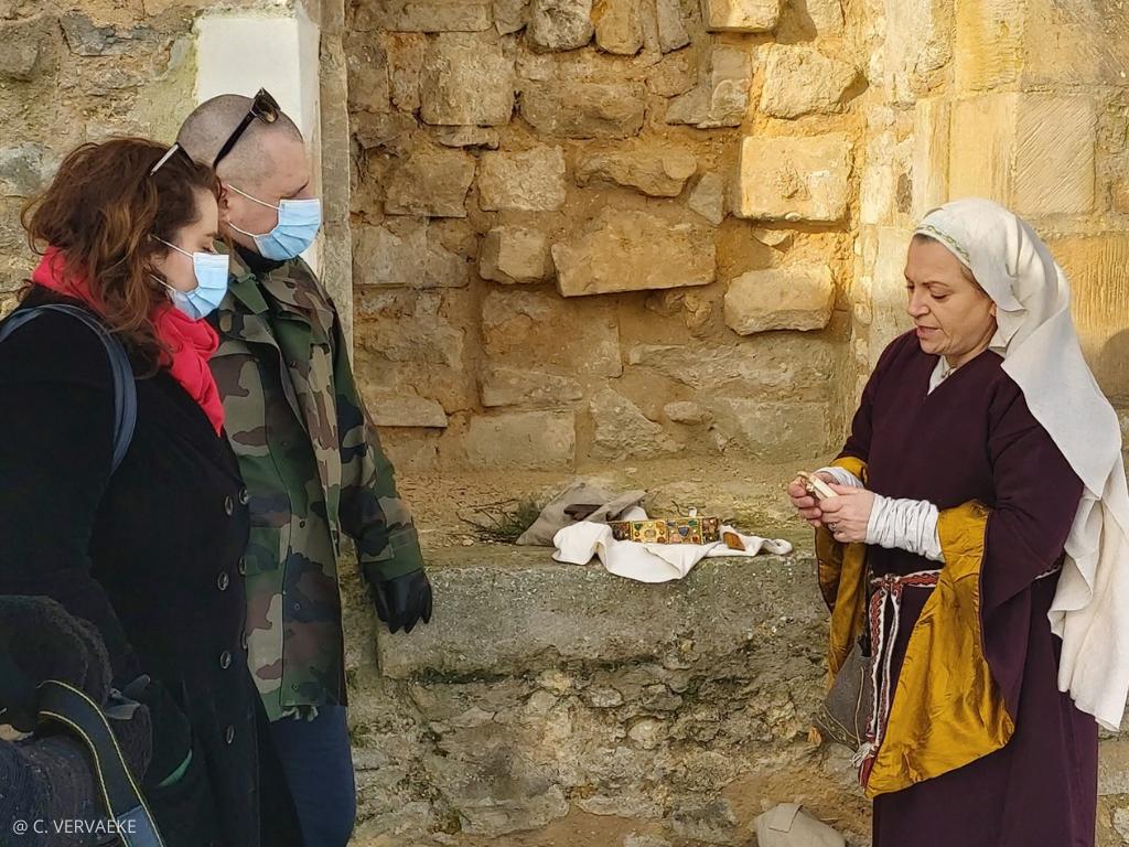 objets historiques visite falaise à l'époque de Guillaume le Conquérant