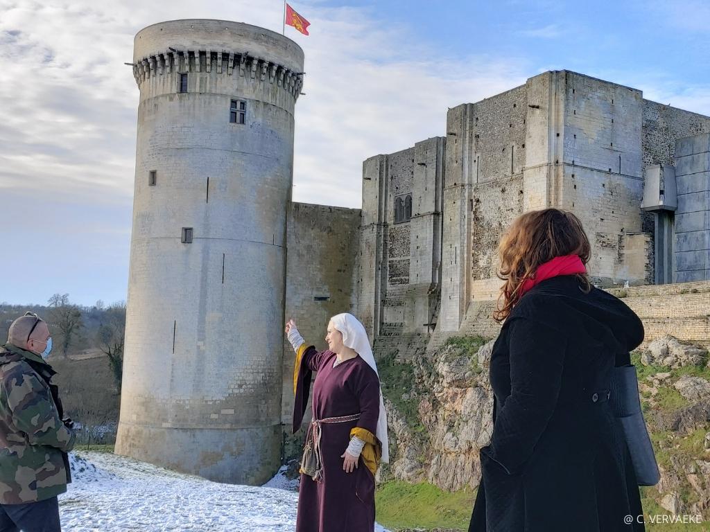 visiter Falaise et son château à l'époque de guillaume le conquérant