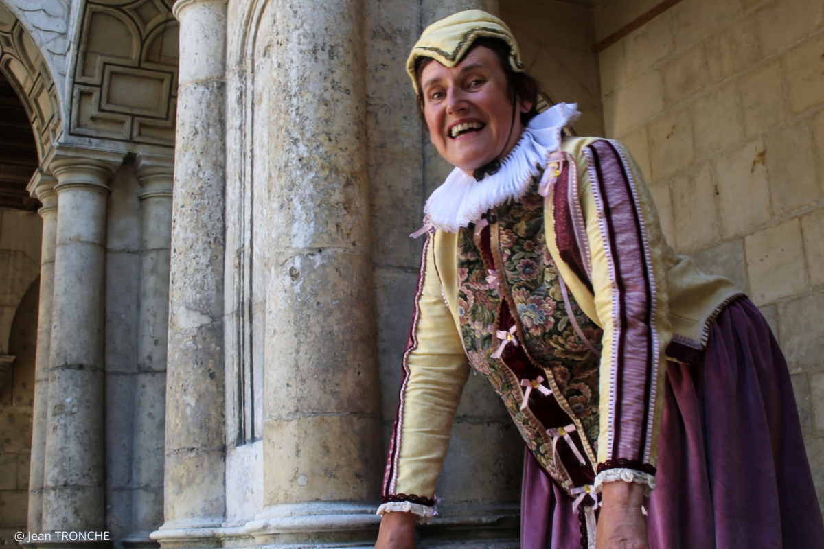 visite immersion historique Françoise de Rohan à la maison henri II à La Rochelle