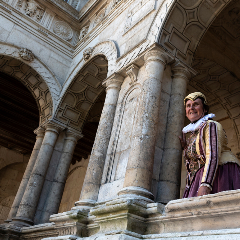 visite immersion La Rochelle capitale protestante guidés par Françoise de Rohan