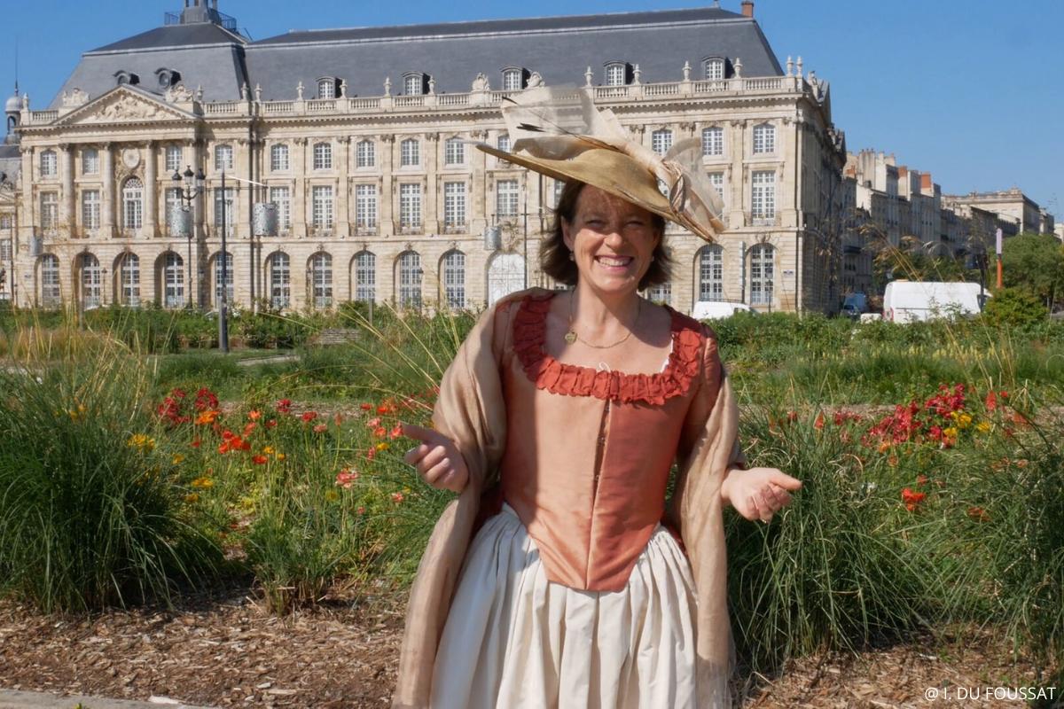visite insolite Bordeaux guidés par Marie Brizard