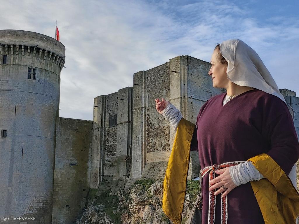 Visite insolite de Falaise et son château sur la jeunesse de Guillaume le Conquérant