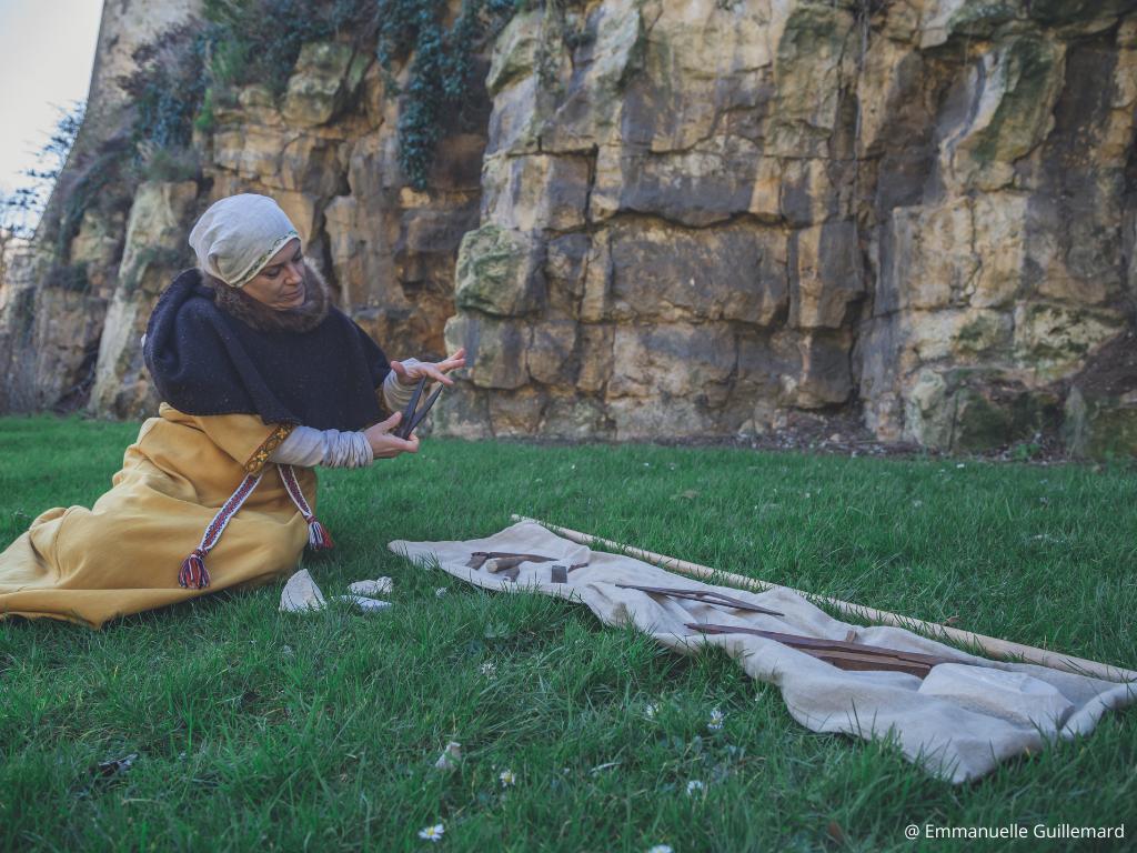 visite insolite outils maitre carrier XIè siècle caen