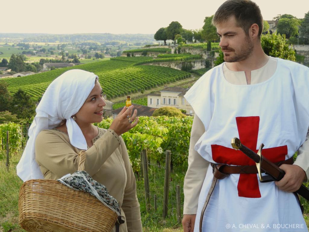 visite de Saint Emilion avec Lyssandre et Alderic