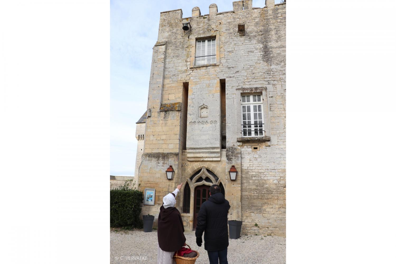 visite villages normand du XVIIIè avec Fanchon lavandière