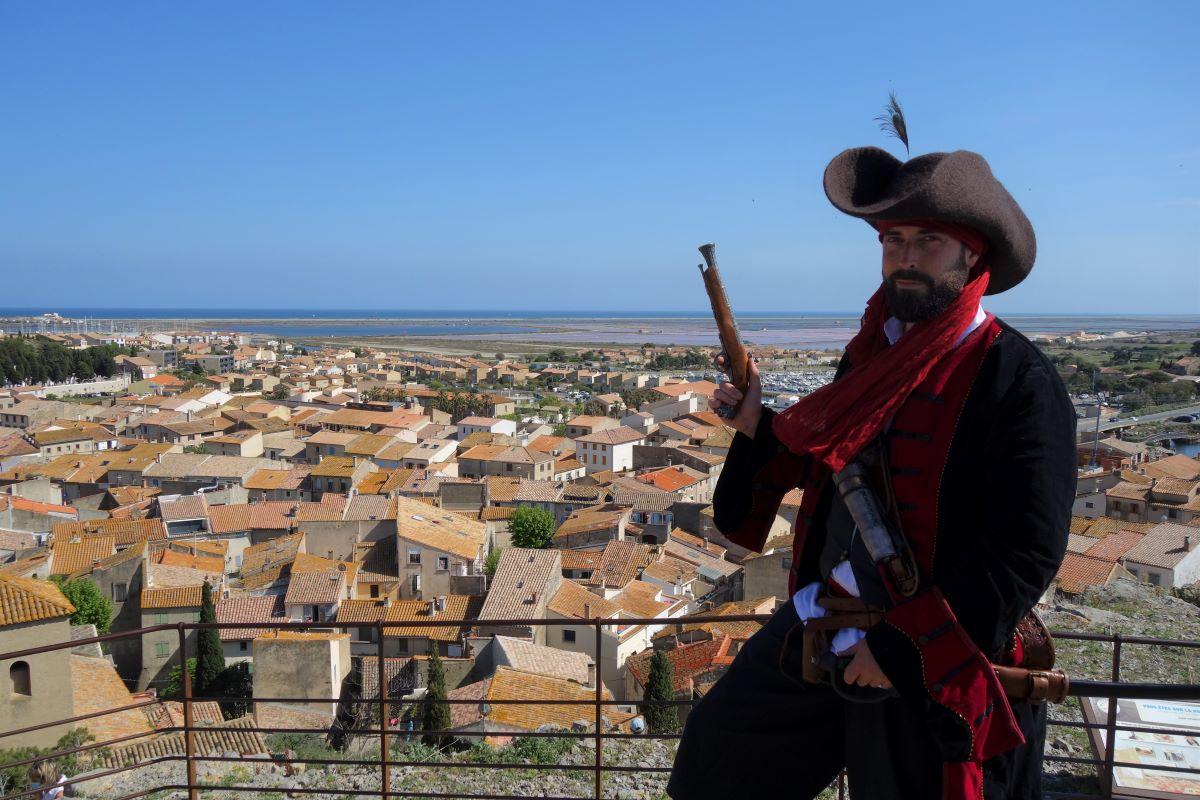 Jacques Corneille forban gruissan visite occitanie