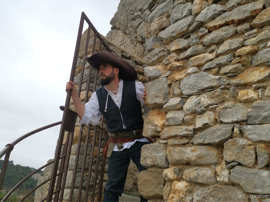 visite d'un pirate à Gruissan