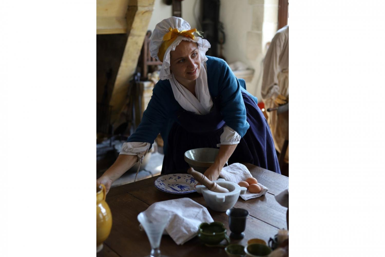 visite insolite XVIIIè siècle cuisinière de l'évêque d'Orléans château de Meung