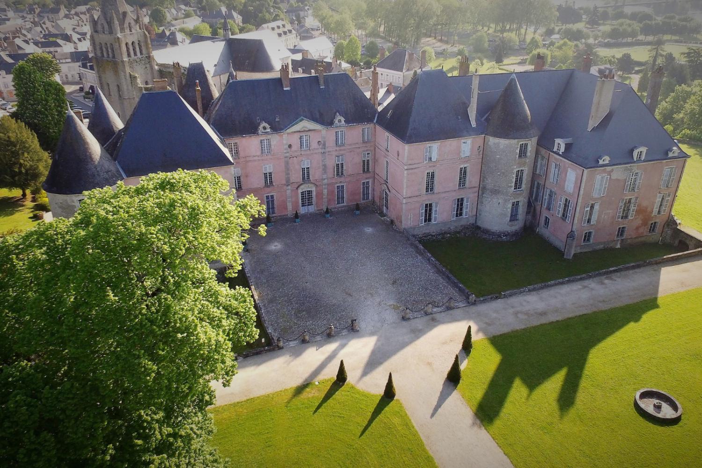 visite insolite au château de Meung sur Loire
