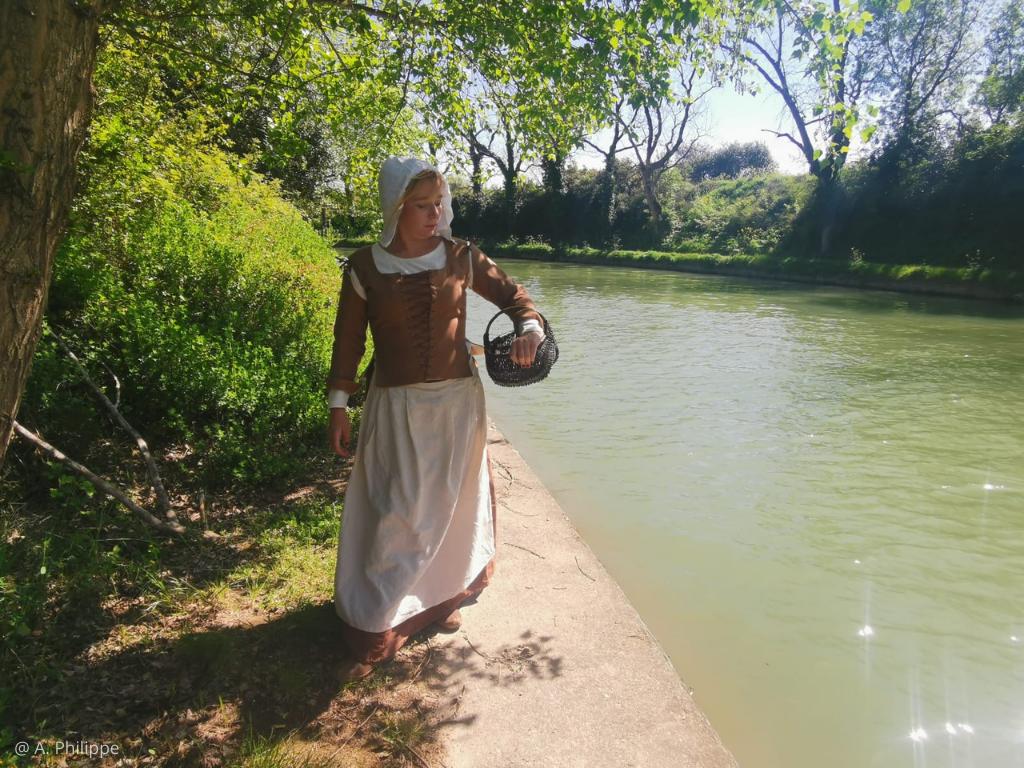 visite insolite vie quotidienne ouvrier XVIIè canal du midi Le Somail