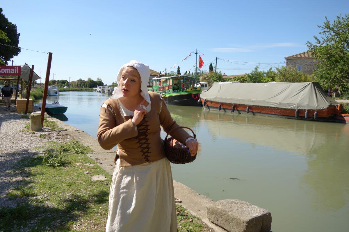 visite theatralisee ouvriere canal midi le somail aude tourisme