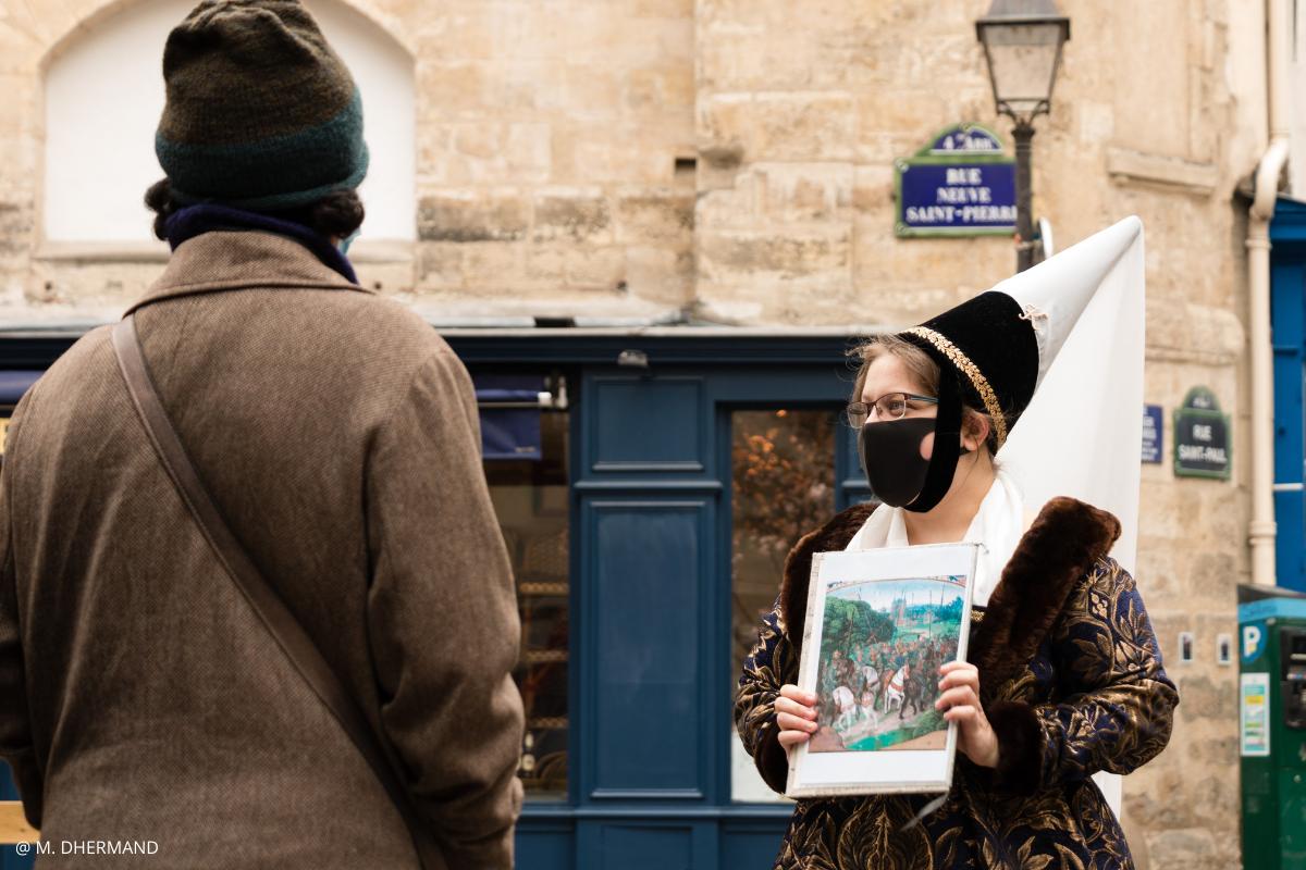 visiter le marais immersion XVè siècle Paris petit groupe