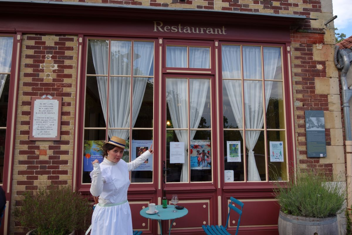 Louise anectodes hotel baudy visite insolite giverny
