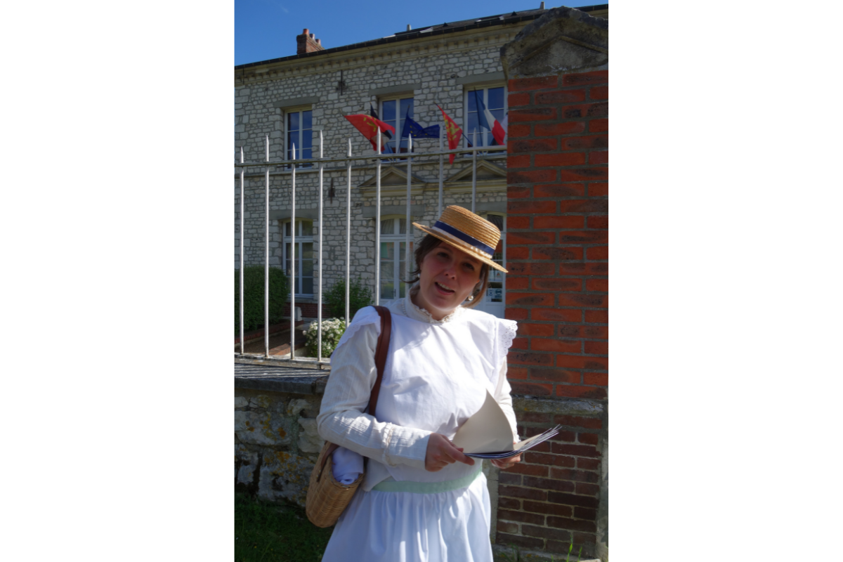 mairie visite insolite village giverny