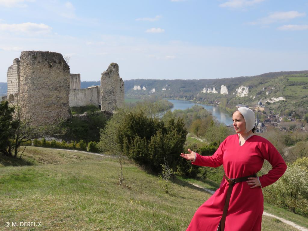 visite contee forteresse chateau gaillard visitez normandie
