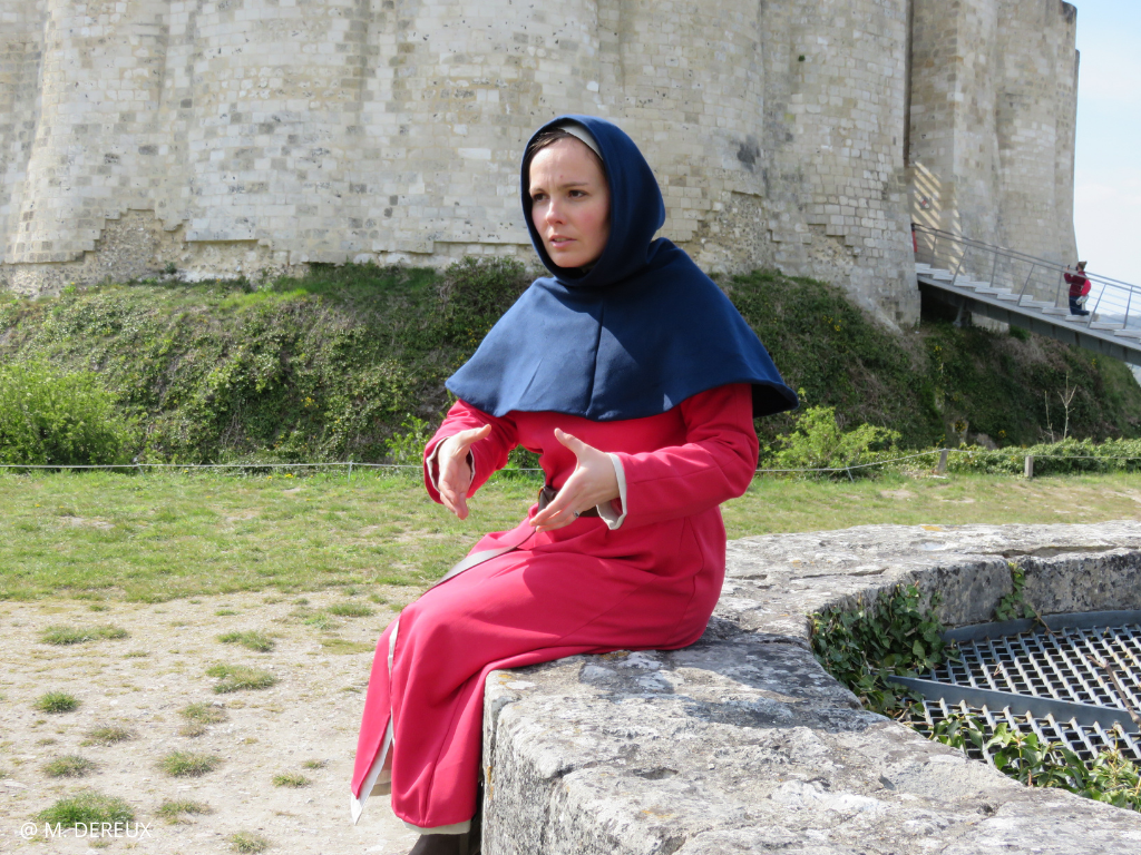 visite costumee chateau gaillard visitez normandie