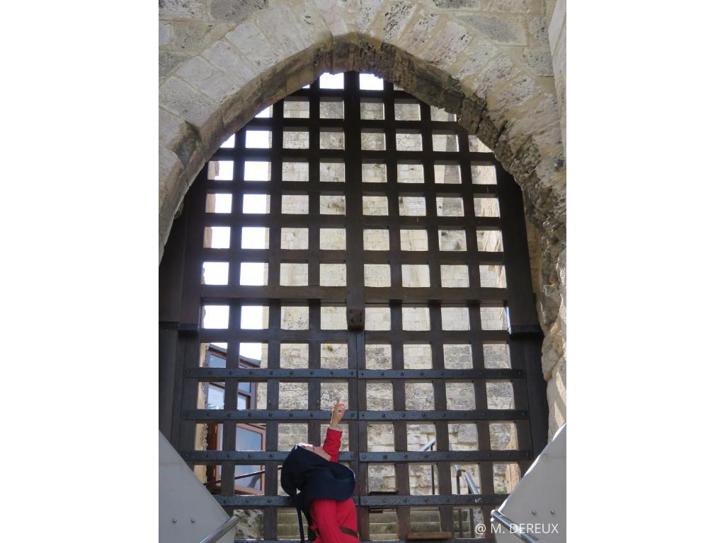 visite forteresse imprenable chateau gaillard normandie
