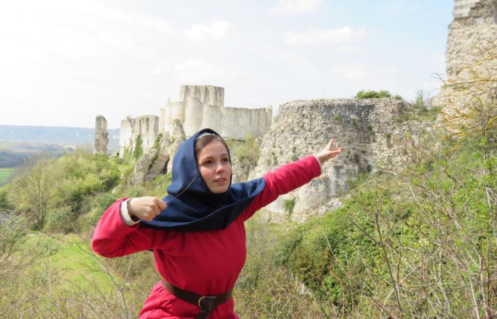 visite insolite histoire contée château gaillard