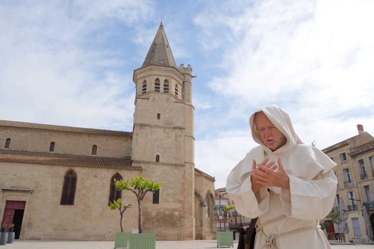 visite insolite sur la croisade en terre chrétienne à Béziers