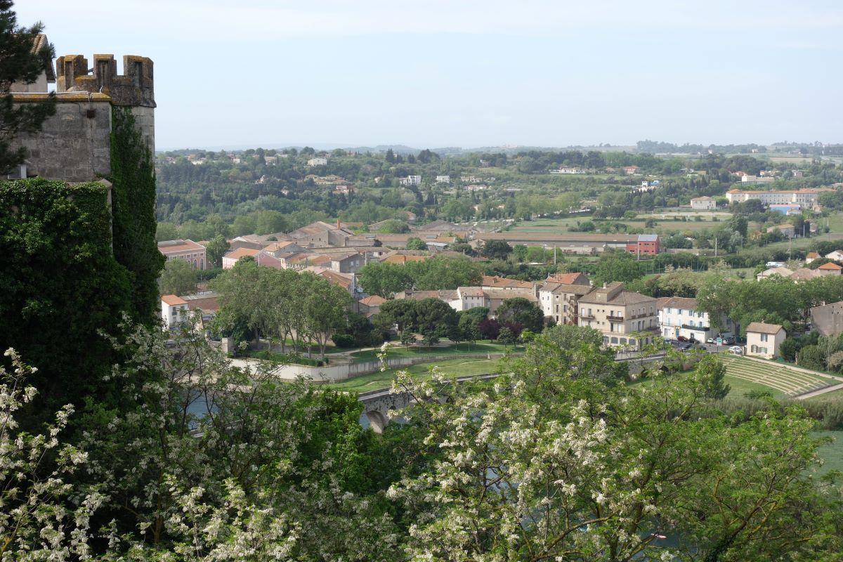 vue de la céthédrale Saint Nazaire de Béziers