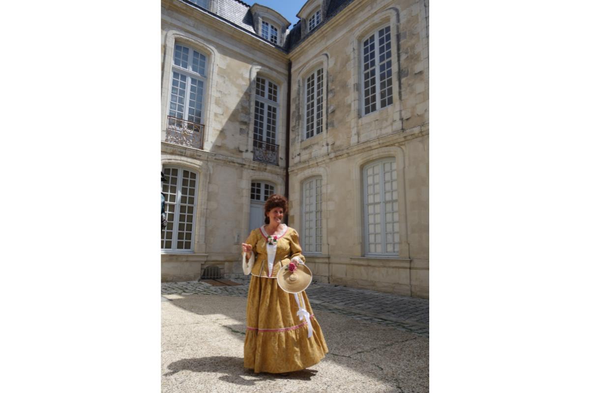 La Rochelle visite insolite fin à l'hôtel Fleuriau