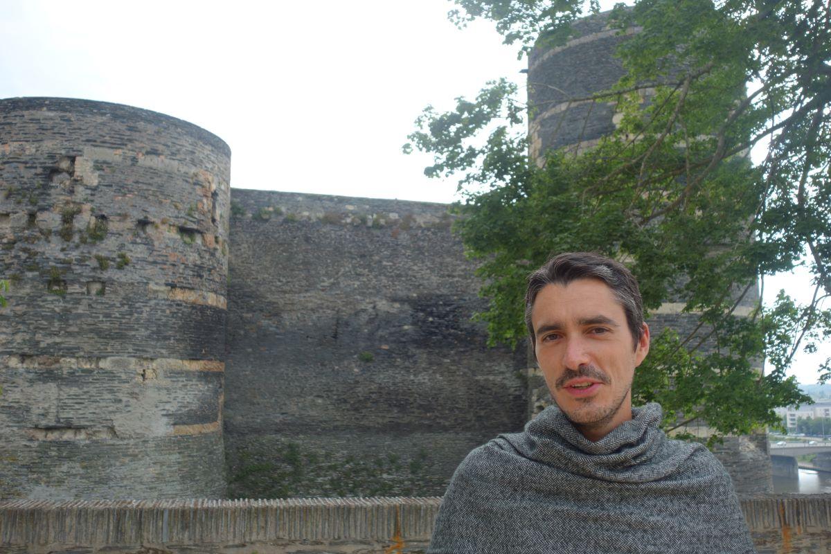 visite guidée insolite Château Angers Moyen Âge