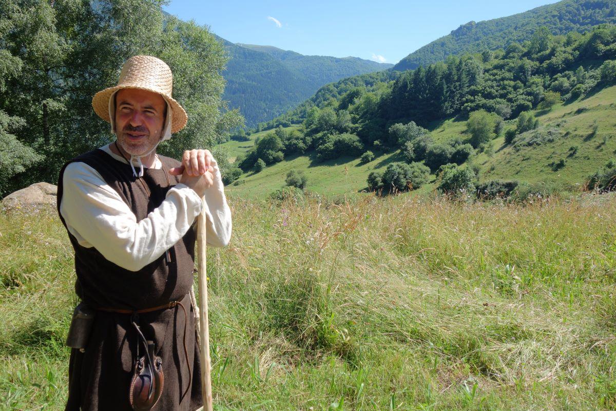 visite insolite Montsegur Guilhem le Berger