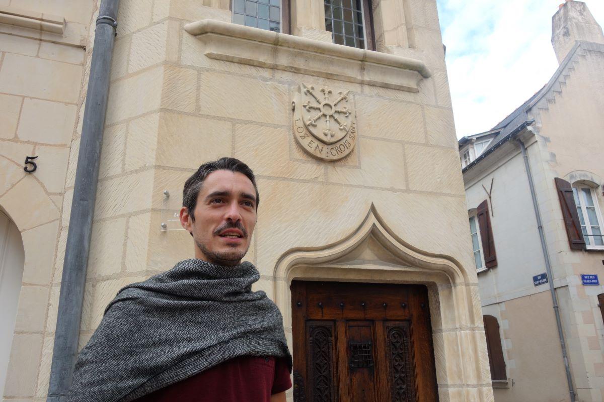 visite insolite Aldric à Angers au temps du bon roi René
