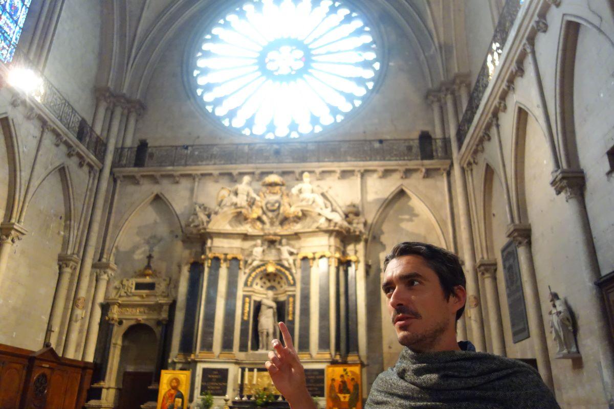 visite insolite Cathédrale Saint Maurice au Moyen Âge