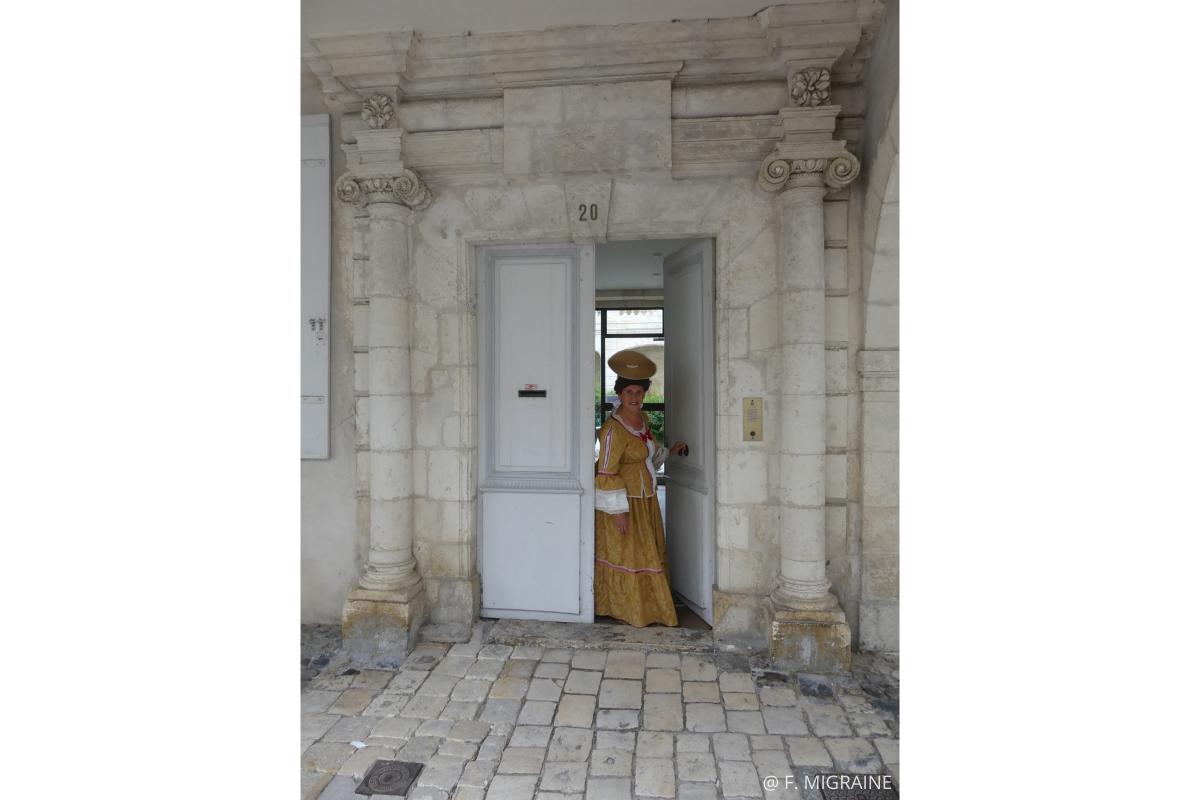 visite insolite la rochelle XVIIIè hôtels particuliers