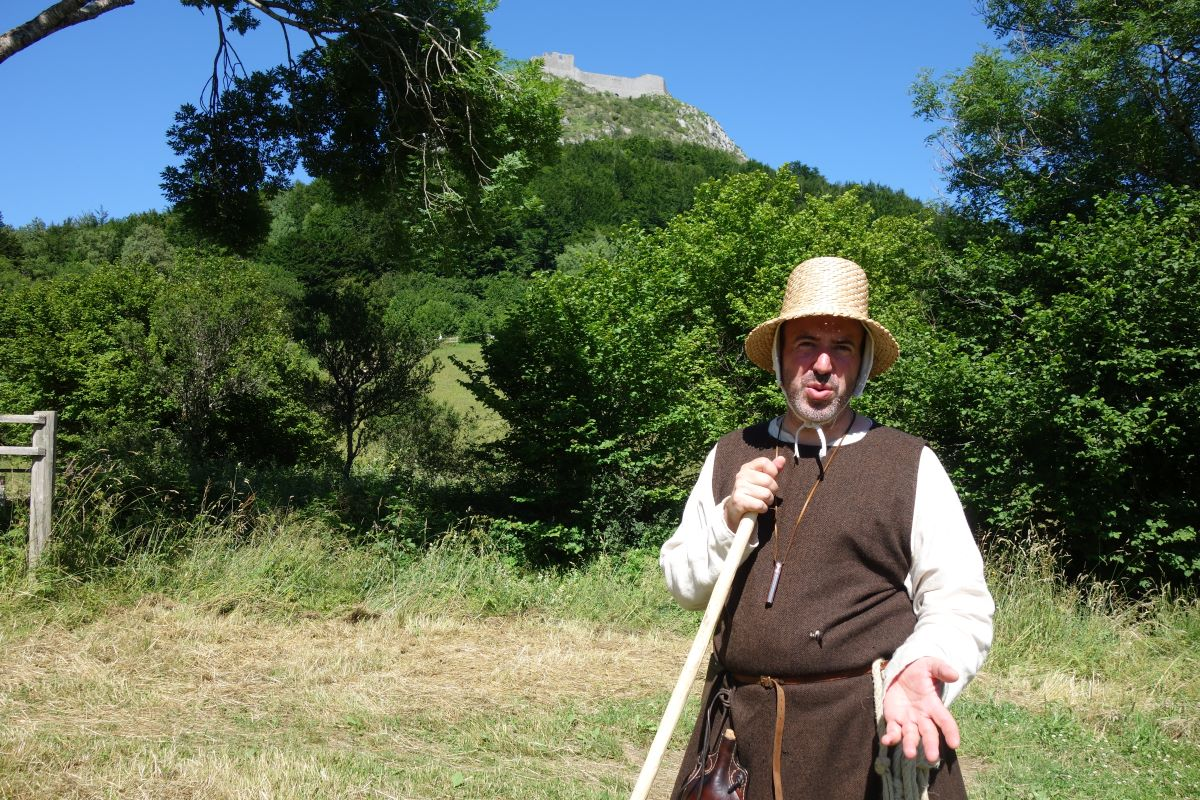 visite insolite panorama château Montségur