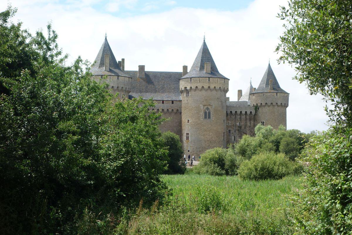 château de Suscinio presqu'île de Rhuys Bretagne